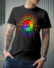 Rainbow Black Lives Matter Science LGBT Pride Premium Fit Mens Tee lifestyle-mens-crewneck-front-6