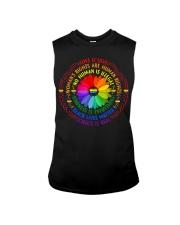 Rainbow Black Lives Matter Science LGBT Pride Sleeveless Tee thumbnail