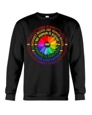 Rainbow Black Lives Matter Science LGBT Pride Crewneck Sweatshirt thumbnail