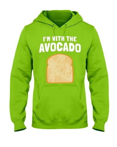 Im With The Avocado Toast Couples Halloween