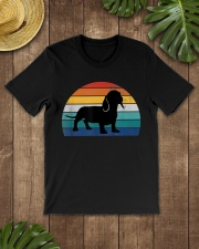 Vintage Dachshund For Women Dog Lovers Premium Fit Mens Tee lifestyle-mens-crewneck-front-18
