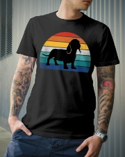 Vintage Dachshund For Women Dog Lovers Premium Fit Mens Tee lifestyle-mens-crewneck-front-6