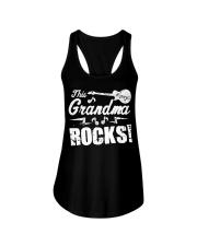This Grandma Rocks Guitar Rock N Roll Funny Ladies Flowy Tank thumbnail