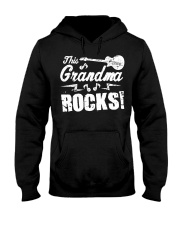 This Grandma Rocks Guitar Rock N Roll Funny Hooded Sweatshirt thumbnail