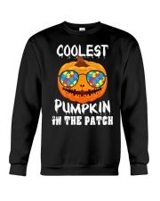 Kids Coolest Pumpkin In The Patch Halloween Crewneck Sweatshirt thumbnail