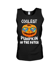 Kids Coolest Pumpkin In The Patch Halloween Unisex Tank thumbnail