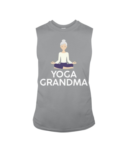 Yoga Grandma Cool Meditating Grandmother