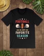 Football is my favorite season Premium Fit Mens Tee lifestyle-mens-crewneck-front-18