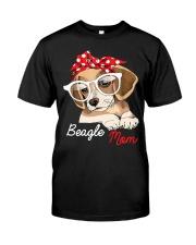 Beagle Mom Premium Fit Mens Tee front