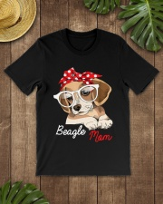 Beagle Mom Premium Fit Mens Tee lifestyle-mens-crewneck-front-18