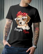 Beagle Mom Premium Fit Mens Tee lifestyle-mens-crewneck-front-6