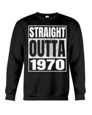 Straight Outta 1970 50th Birthday 50 Years Age Crewneck Sweatshirt thumbnail