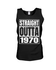 Straight Outta 1970 50th Birthday 50 Years Age Unisex Tank thumbnail