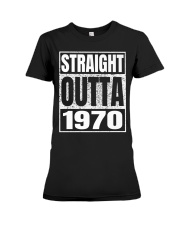 Straight Outta 1970 50th Birthday 50 Years Age Premium Fit Ladies Tee thumbnail