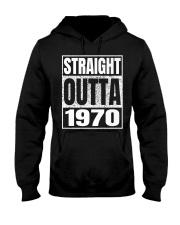 Straight Outta 1970 50th Birthday 50 Years Age Hooded Sweatshirt thumbnail