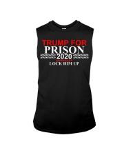 Trump For Prison 2020 Lock Him Up Sleeveless Tee thumbnail