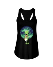 Alien And The Cat Ladies Flowy Tank thumbnail