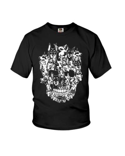 Doberman Dog Skull Best Halloween Costume