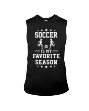 Soccer is my favorite season Sleeveless Tee thumbnail