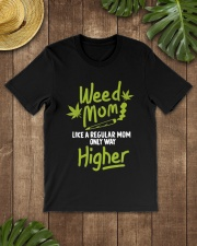 Weed Mom 420 Pot Cannabis Leaf Only Way Premium Fit Mens Tee lifestyle-mens-crewneck-front-18