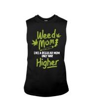 Weed Mom 420 Pot Cannabis Leaf Only Way Sleeveless Tee thumbnail