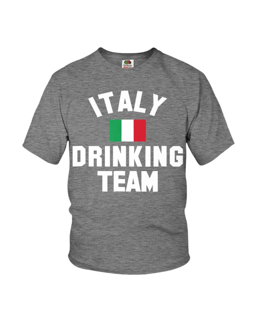 Italy Drinking Team Italy Beer Festivals Youth T-Shirt