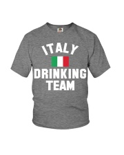 Italy Drinking Team Italy Beer Festivals Youth T-Shirt front