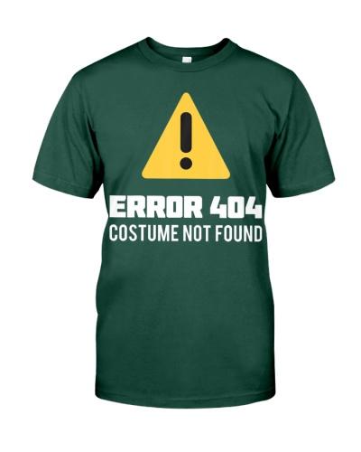 Halloween Geek Nerd Costume Error 404 Not Found