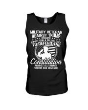 Military Veterans Against Trump 2020 USA Election Unisex Tank thumbnail