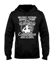 Military Veterans Against Trump 2020 USA Election Hooded Sweatshirt thumbnail