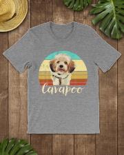 Cute Cavapoo Dog Vintage Pet Owner Graphic Premium Fit Mens Tee lifestyle-mens-crewneck-front-18