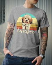 Cute Cavapoo Dog Vintage Pet Owner Graphic Premium Fit Mens Tee lifestyle-mens-crewneck-front-6
