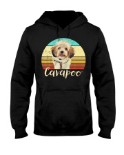 Cute Cavapoo Dog Vintage Pet Owner Graphic Hooded Sweatshirt thumbnail