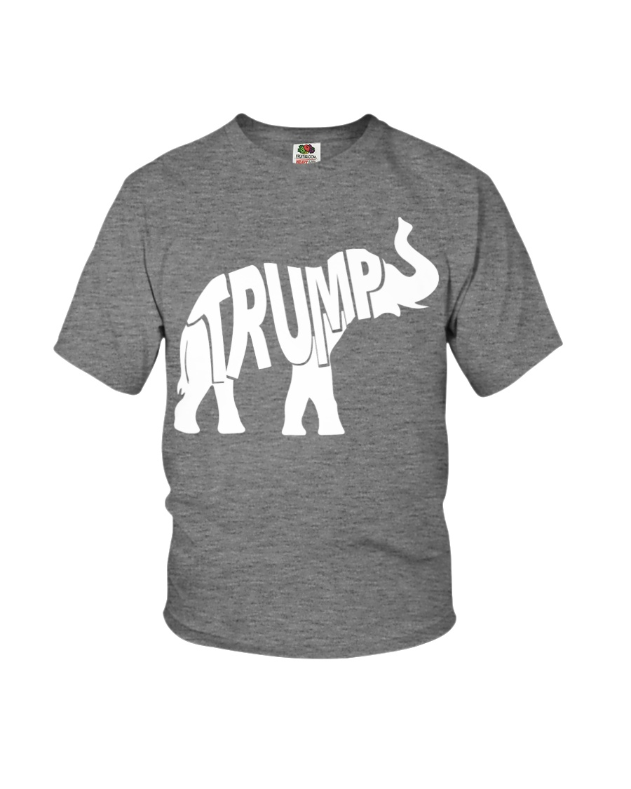 Donald Trump 2020 Republican Elephant Youth T-Shirt