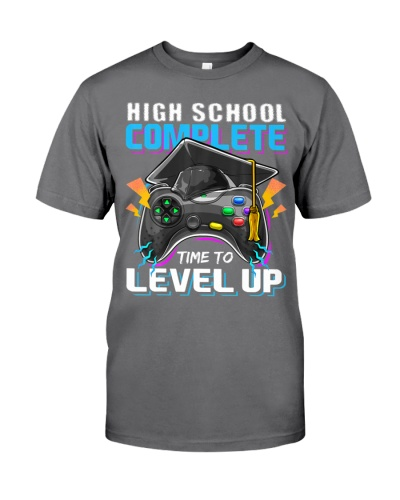 High School Complete Video Game Senior Graduation