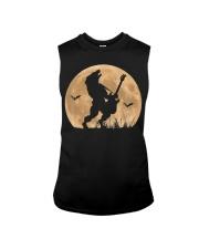 Halloween Guitar Costume Werewolf Rock Guitarist Sleeveless Tee thumbnail