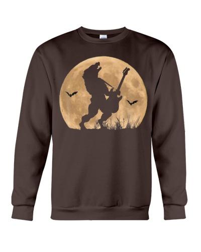 Halloween Guitar Costume Werewolf Rock Guitarist