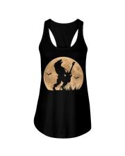 Halloween Guitar Costume Werewolf Rock Guitarist Ladies Flowy Tank thumbnail