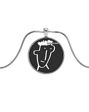 David Byrne - Three Big Songs Metallic Circle Necklace thumbnail