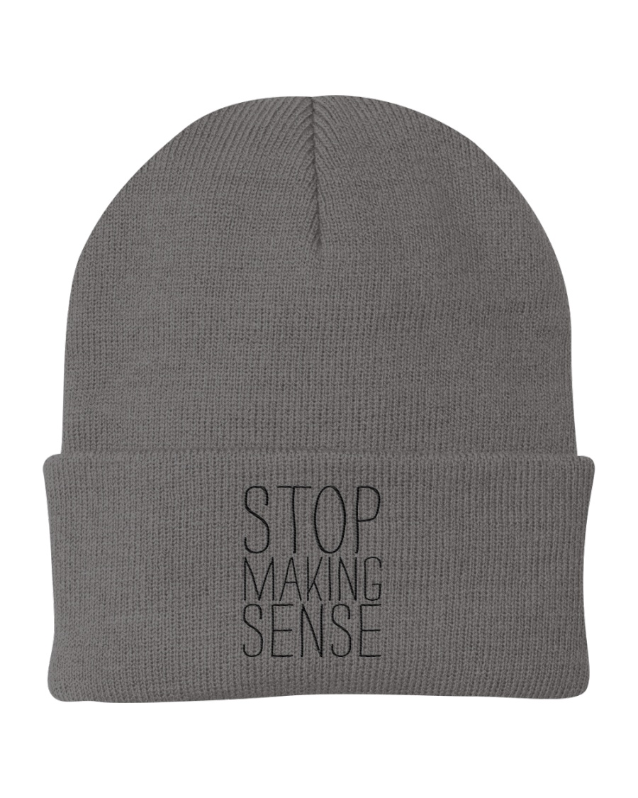 Stop Making Sense Knit Beanie