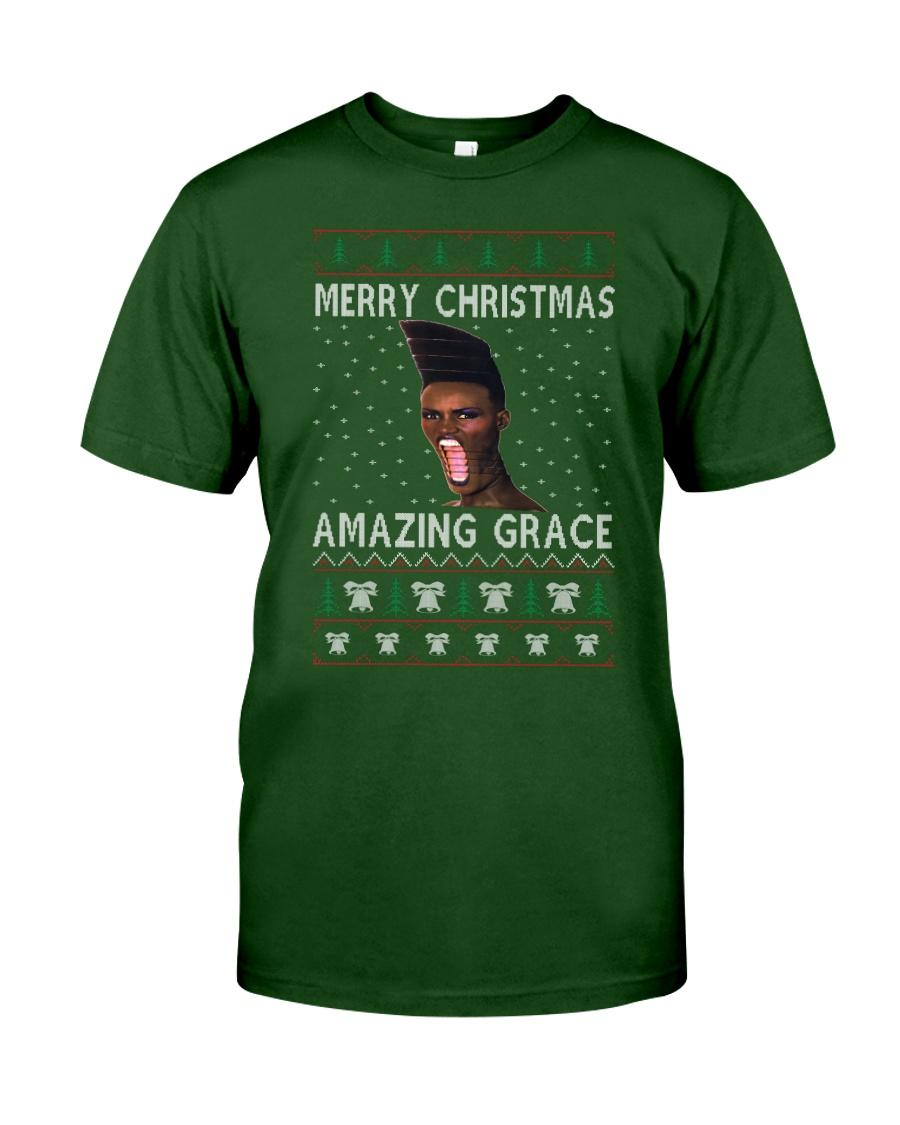 Amazing Grace Ugly Christmas Sweater Classic T-Shirt