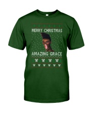 Amazing Grace Ugly Christmas Sweater Classic T-Shirt front