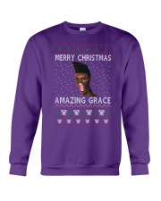 Amazing Grace Ugly Christmas Sweater Crewneck Sweatshirt thumbnail