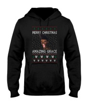 Amazing Grace Ugly Christmas Sweater Hooded Sweatshirt thumbnail