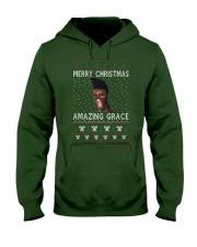 Amazing Grace Ugly Christmas Sweater Hooded Sweatshirt front