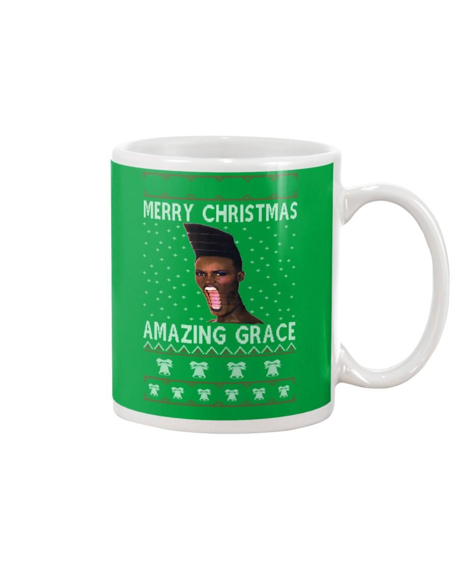 Amazing Grace Ugly Christmas Sweater Mug