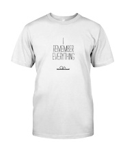 The OA - I REMEMBER EVERYTHING Classic T-Shirt thumbnail