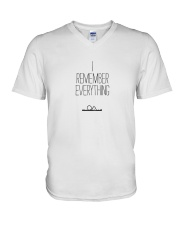 The OA - I REMEMBER EVERYTHING V-Neck T-Shirt front
