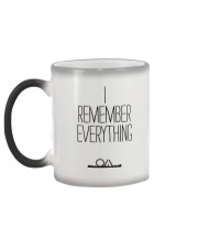 The OA - I REMEMBER EVERYTHING Color Changing Mug color-changing-left