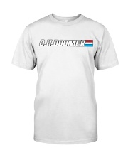 OK Boomer- American Hero Editon Classic T-Shirt tile